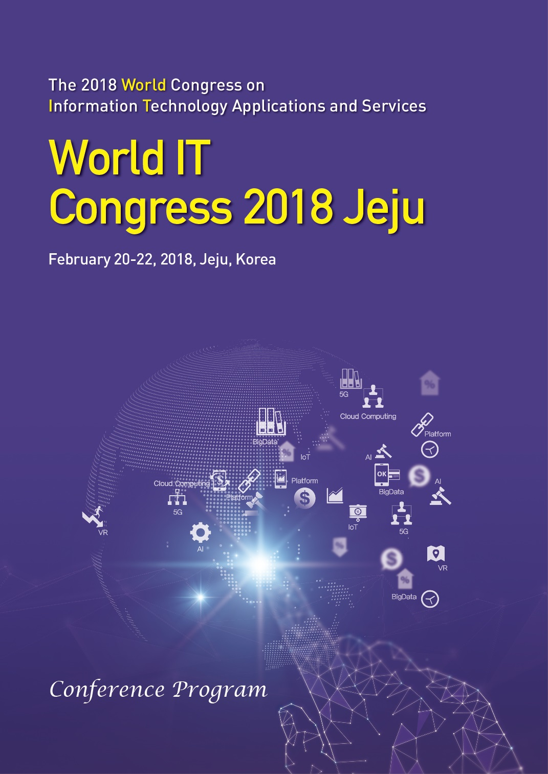 The 2018 World Congress on Information Technology Applications